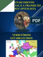 O RENASCIMENTO COMERCIAL E A TRANSIÇÃO FEUDO-CAPITALISTA(1)