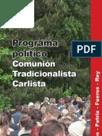 Programa político CTC
