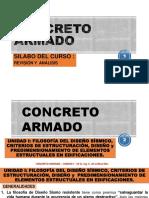 CONCRETO ARMADO-UNIDAD I-FILOSOFIA DEL DISEÑO SISMICO Y CRITERIOS ESTRUC Y DISEÑO  .pdf