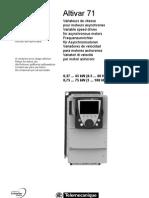 Instruction - ATV71 - 0,37 - 75 kW - EN