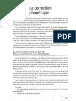 La correction phonétique (Dans Christine Tagliante, La classe de langue, 2006)