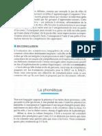 La phonétique (Dans F. Desmons et al., Enseigner le FLE, pratiques de classe, 2008)