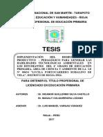 EDUCACION PRIMARIA - sesion de aprendizaje.pdf