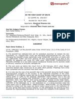 Mankind v. Chandra Mani Tripathi - 29(5) - TM Act