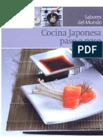 La cocina japonesa paso a paso - 94 páginas