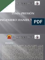 TEMA #6 PRESION