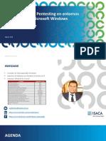 ISACA SD - Ataques sobre entornos Windows v1.0