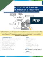 Effective HR Planning