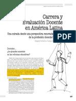 CARRERA Y EVALUACION DOCENTE