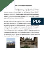 Imp- Llenar espacios- Alhambra- Respuestas