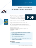 GUIDE - Méthode de questionnement