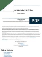 Mentor PADS VX2.3 student manual