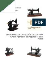 5 -tecnologia del sector costura 5 Funcion y partes