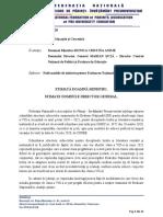 Adresa Federatiei Părintilor catre Ministerul Educatiei
