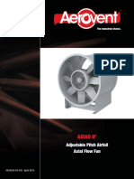 Vaneaxial Fans Axiad II Adjustable Pitch Airfoil (Model FTFA) - Catalog FA-301