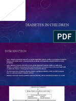 Diabetes In Children.pptx