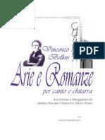 Bellini - Arie Per Soprano e Chitarra