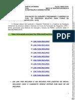 NBCG 3094 PUBLICAÇÃO PROVA E GABARITO PRELIMINAR CFS 2019 ASSINADO