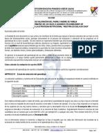 FORMATO DE VALORACION ESTRATEGIA NUESTRA ESCUELA EN CASA
