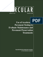 use of accelerated pavement testing to evaluate maintenance and pavement preservation treatments