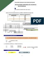 [PDF] Trabajo de sanitarias calculo de tuberias.xls