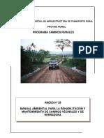 Manual de Rehabilitación y Mantenimiento de Caminos - MTC 2p