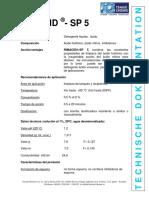 RIMACID-SP 5 TD (ES)