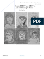 The Functions of SBST and DBST in South African Primary Schools