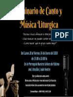 Seminario de Canto y Música Liturgica