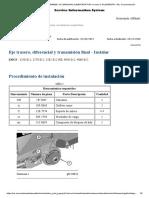 Calibracion Thrust Pin - Motoniveladora 24M B9300001-UP (MÁQUINA) ALIMENTADA POR un motor C18 (SEBP6378 - 54)