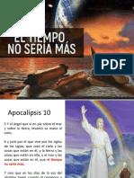 EL TIEMPO NO SERIA MAS