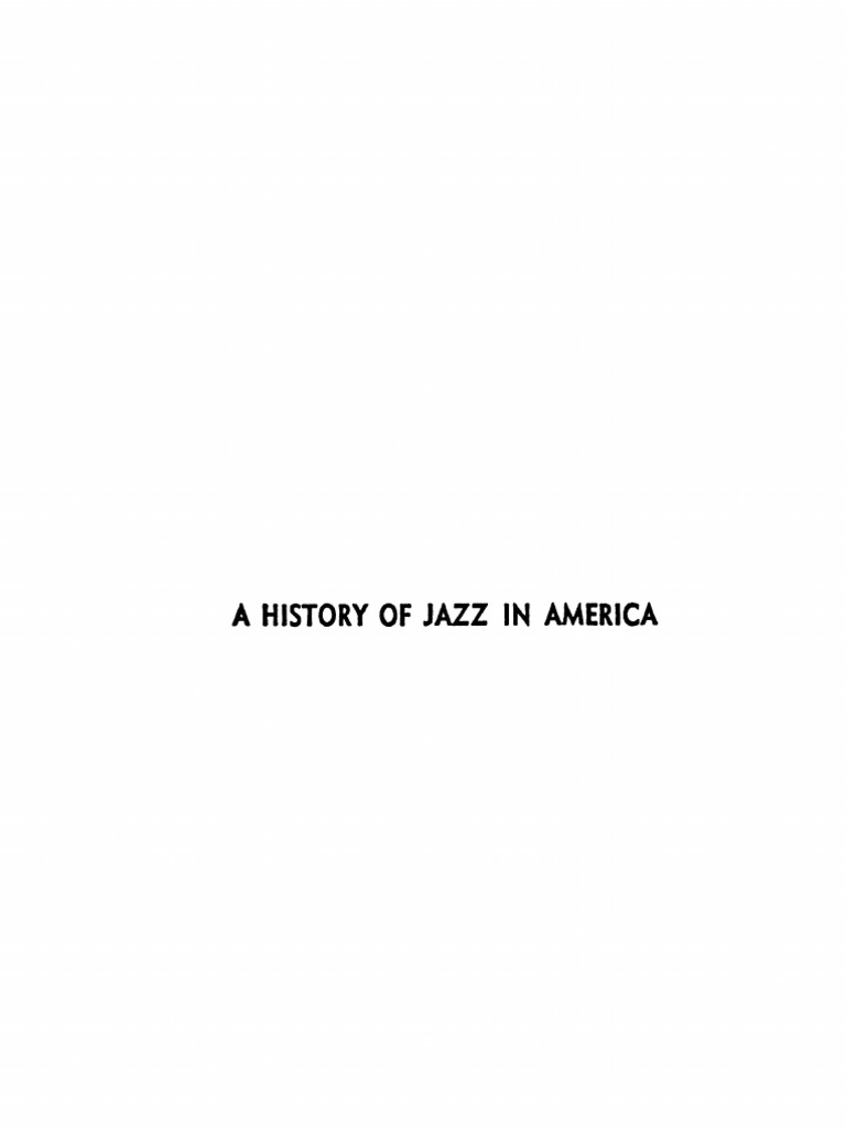 A History of Jazz in America | Minstrel Show | Jazz