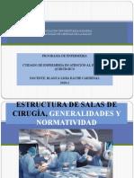 2. ESTRUCTURA DE SALAS DE CIRUGÍA, GENERALIDADES Y.pptx