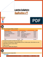Application n°1 Budget-٢