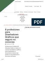 8 profesiones para Diseñadores Gráficos que seguro no conocías.pdf