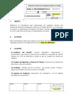 PRC-SST-015 Procedimiento Auditorias Internas.docx