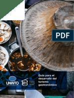 Guia desarrollo turismo gastronómico