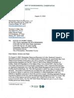 Letter of Permit Denial Dec to Bio Hi Tech