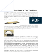NOU Gain 9″ Of Head Space In Your Tiny House use drop axles