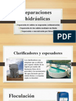 1. SEPARACIONES HIDRAULICAS UNIDAD IV edu