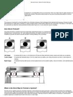 Bearing Preload - National Precision Bearing
