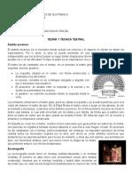 resumen de capitulos 1-8 teoría y técnica del teatro