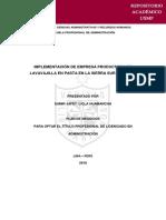 IMPLEMENTACIÓN DE EMPRESA PRODUCTORA DE LAVAVAJILLA EN PASTA EN LA SIERRA SUR DE PERU.pdf