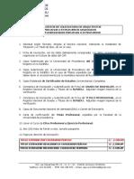 REQUISITOS DE COLEGIATURA  2019
