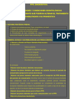 PPR ENFERMEDADES Y CONDICIONES ODONTOLÓGICAS