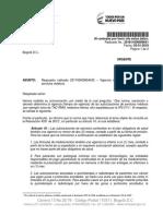 Concepto Jurídico 201811600009641 de 2018 - vigencia autorizaciones medicas