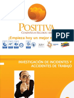 INVESTIGACIÓN DE INCIDENTES Y ACCIDENTES 2013