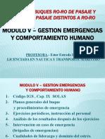 MODULO 5 GESTION DE EMERGENCIAS Y COMPORTAMIENTOS HUMANOS