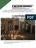 A Beyrouth, une colère croissante - Libération