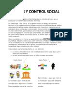 NORMAS Y CONTROL SOCIAL